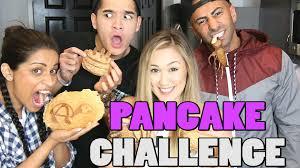 Challenge Wassabi Productions Pancake Challenge Ft Superwoman Fouseytube Laurdiy