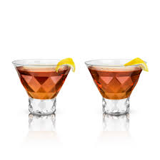 stemless martini glasses category