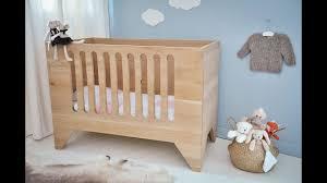 chambre bébé fabrication comment fabriquer un lit pour enfant criby