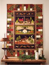 reach for your panel fabric as draws nigh quilting cubby