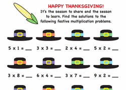 3rd grade thanksgiving worksheets free printables education