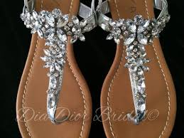wedding shoes jeweled heels best 25 flat wedding sandals ideas on pretty sandals