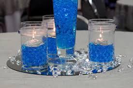 wedding centerpiece ideas blue decorating of party