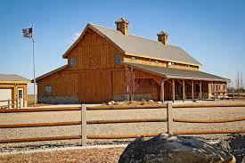 Sale Barns In Nebraska Combination Home U0026 Barn In Nebraska Rustic Exterior Other