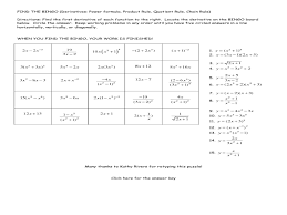 derivatives worksheet worksheets reviewrevitol free printable