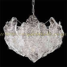 Murano Glass Chandelier Chiacchiere Murano Glass Chandelier