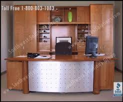 Front Desk Reception Reception Moveable Casework Workstation Millwork Furniture Photos