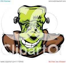 cartoon haloween pictures cartoon of a halloween happy frankenstein face royalty free