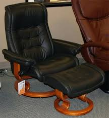 Office Chair And Ottoman Ergonomic Leather Chair With Ottoman Wood And Leather
