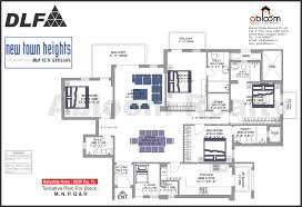 Dlf New Town Heights Floor Plan Dlf New Town Heights Sector 90 Gurgaon