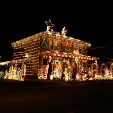christmas decorations home the most decorated christmas homes in america popsugar home