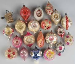 glass ornaments antique vintage and modern glass
