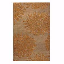 Grey And Orange Rug Orange Area Rugs Rugs The Home Depot