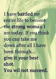 Strong Woman Meme - awaken the warrior thoughts on a cloudy day