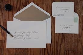 wedding invitation envelopes wedding envelopes proper etiquette on how to address and organize