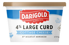 How Many Calories Cottage Cheese by Cottage Cheese Large Curd 16oz Darigold