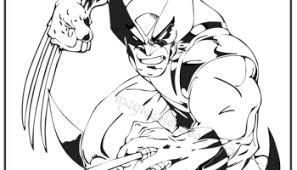 x men wolverine coloring pages 03