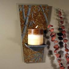 Bamboo Sconce Natural Slate Candle Wall Sconce Elegant Stone Decor U0026 Gifts