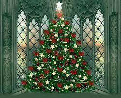 Animated Christmas Ornaments Gif by Christmas Tree In A Corner Window Animated Gif Christmas Christmas