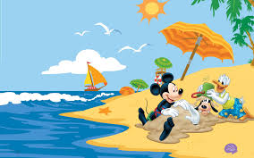 summer adventures with mickey mouse donald duck goofy disney