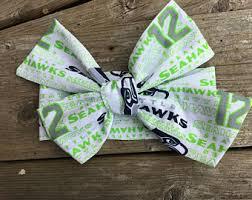 seahawk ribbon seahawks toddler etsy
