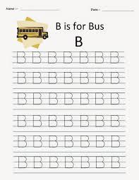 kindergarten worksheets printable tracing worksheets alphabet b