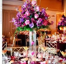 Purple Flowers Centerpieces by 38 Best Purple Wedding Centerpiece Ideas Images On Pinterest