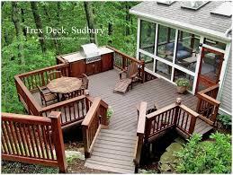 backyards cool garden design with building a backyard deck ready