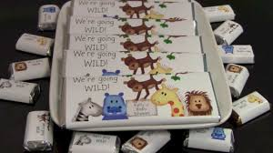 zoo shower customized baby shower wrappers youtube
