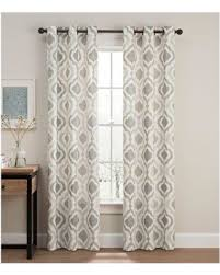 Grommet Window Curtains Sweet Deal On Cambree Ogee 108 Grommet Window Curtain Panel Pair