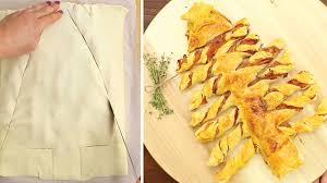 serve a perfect christmas snack using puff pastry tiphero