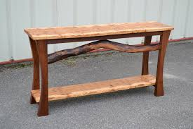 Wood Sofa Table Consul And Side Tables Corey