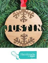 set of 5 various ornaments bauble wood laser cut