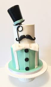 gentleman baby shower gentleman birthday cake top hat mustache