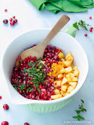 Cranberry For Thanksgiving Pomegranate Apple Cranberry Relish A Spicy Perspective