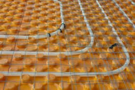 in floor heating basement finished basement company radiant floor heating pros and cons