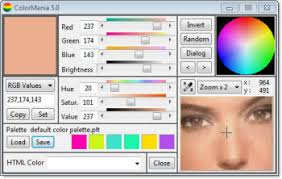 colormania advanced colorpicker and color scheme generator