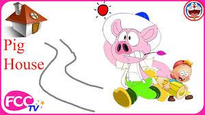 pig cartoon drawing baby boss