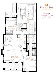 villa floor plans senior living floor plans regency park