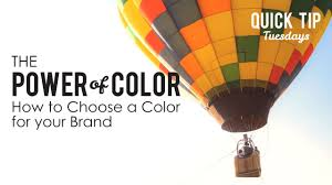 How To Choose A Color by The Power Of Color How To Choose Color For Your Brand Youtube