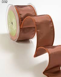 copper ribbon 2 inch taffeta iridescent wired ribbon may arts wholesale ribbon