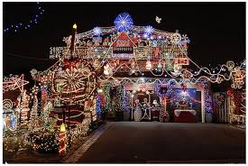cool christmas cool outdoor christmas light displays the best tricks to hang up