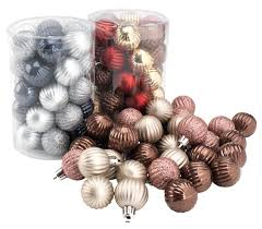 christmas bauble heliotrop 34pcs pk jysk