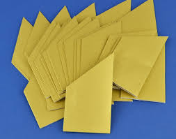 100 pearlescent gold paper hats for christmas crackers