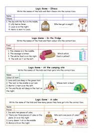 8 free esl in the library worksheets