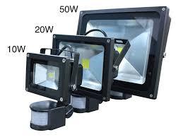 led security light fixtures led pir motion sensor flood light outdoor security l with lights