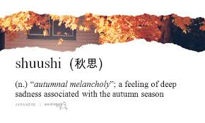 word for cuisine a thousand words word stuck 秋思 the sadness associated with