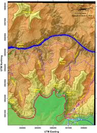 Grand Canyon Arizona Map by Optional Hiking Trails For Field Trip 1a U2013 In The Playground Of Giants
