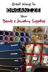 jewelry making organization ideas home
