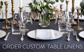 Table Linen Sizes - luxury bed linens contemporary linen tablecloths pure linen